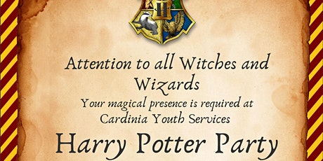 2021 Harry Potter Event tickets