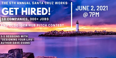 5th Annual Get Hired!  UCSC CIED Business Plan Contest tickets