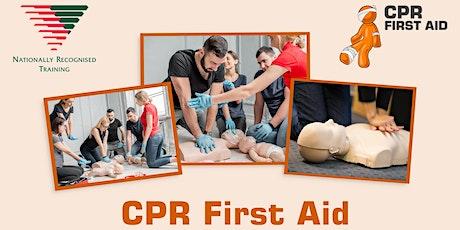 EXPRESS CPR Refresher 30 mins + online theory - Sydney CBD tickets