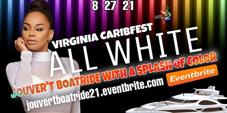 "Caribfest J'Ouvert ""ALL WHITE"" Boatride 2021 tickets"