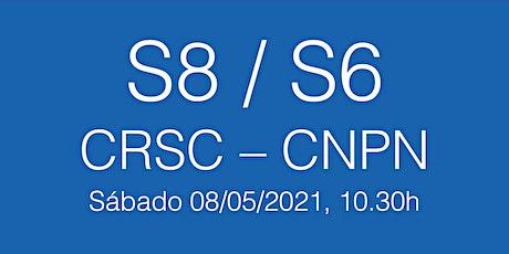 Trobada Escola S8-S6 CRSC - CNPN, sábado 08/05/21 - 10.30h entradas
