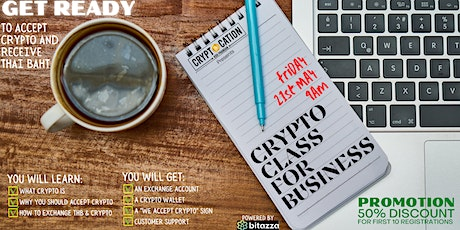 CRYPTO CLASS FOR BUSINESS tickets