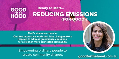 Reducing Emissions with Jo Taranto tickets
