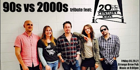 90s vs 2000s tribute feat: 20th Century Kids tickets
