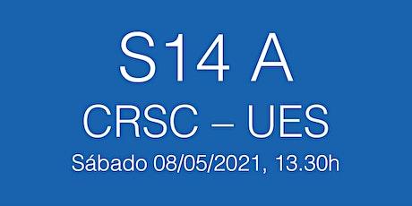 Partido S14A Primera Catalana CRSC - UES, sábado 08/05/21 - 13.30h entradas