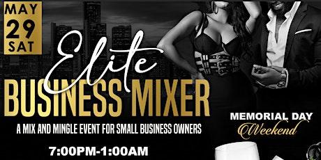 2021 Elite Business Mixer tickets