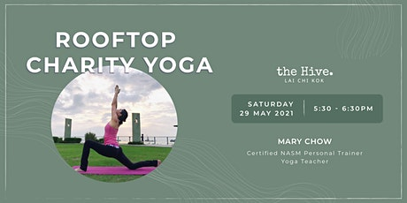 Rooftop Charity Yoga tickets