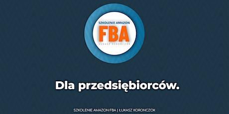 Szkolenie Amazon FBA - Łukasz Koronczok - online Tickets