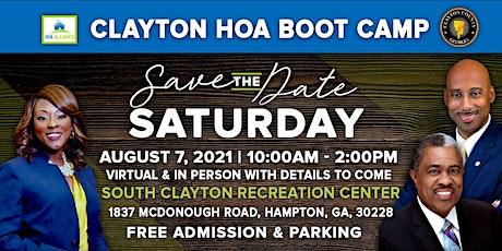 2021 Clayton HOA  Boot Camp tickets