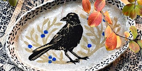 Decorative Clay Platter Workshop tickets