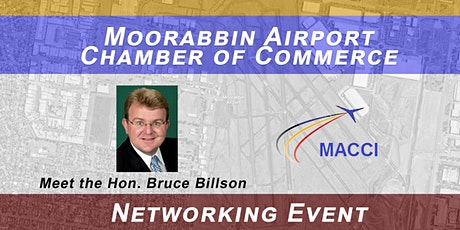 Moorabbin Airport Chamber of Commerce Business Networking Event tickets