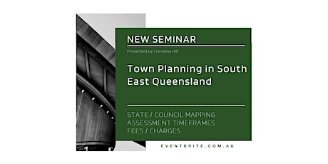 Town Planning in South East Queensland tickets