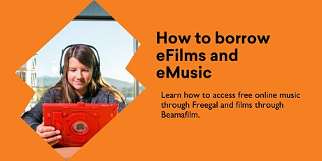 How to Borrow eFilms  and eMusic @ Burnie Library tickets