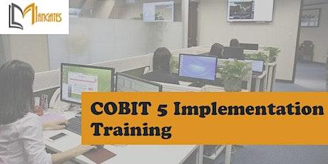 COBIT 5 Implementation 3 Days Virtual Live Training in Frankfurt tickets