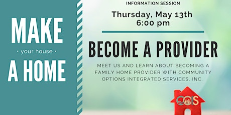 Family Home Provider Information Session tickets