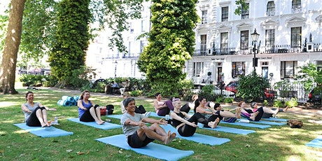 Outdoor Yoga in Norfolk Square Gardens tickets