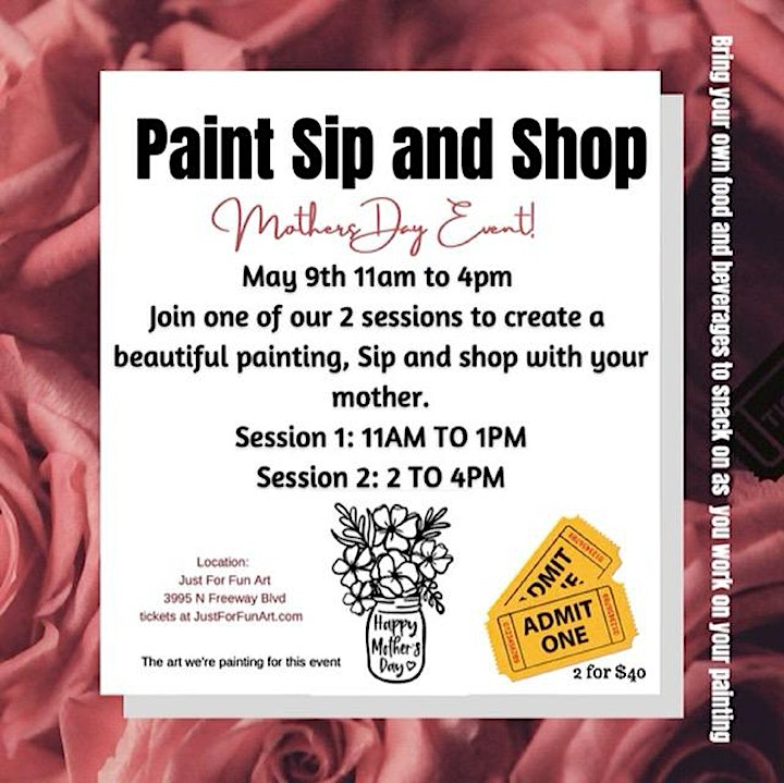 Mothers Day Paint, Sip Shop image