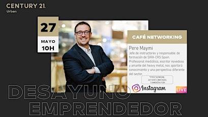 DESAYUNO EMPRENDEDOR con Pere Maymi entradas
