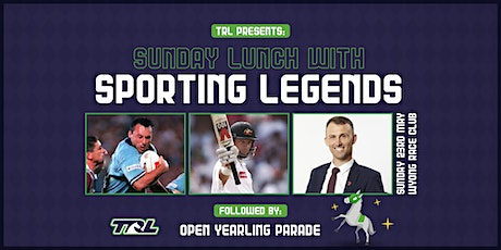 Sunday lunch with sporting legends tickets
