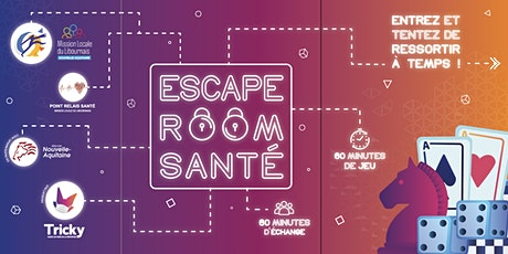 ESCAPE ROOM SANTE billets