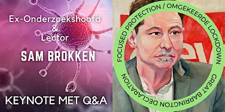 Sam brokken: Keynote met live Q&A tickets