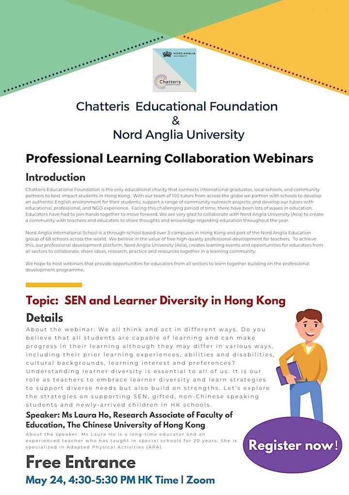 SEN and Learner Diversity in Hong Kong image