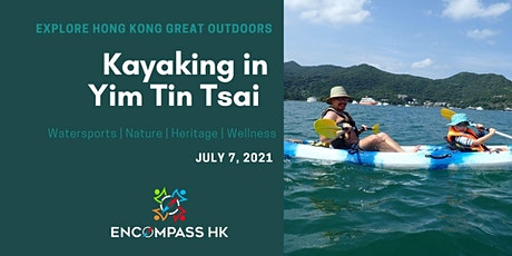 Kayaking adventure in Yim Tin Tsai tickets