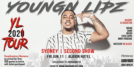 Youngn Lipz - Second Sydney show tickets