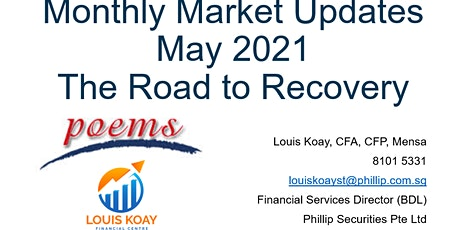 Monthly Market Updates - May 2021 - The Road to Recovery tickets