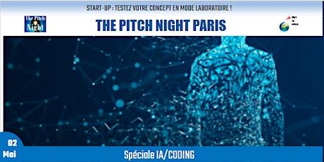 "Pitch Night Paris spécial ""IA/CODING"" billets"