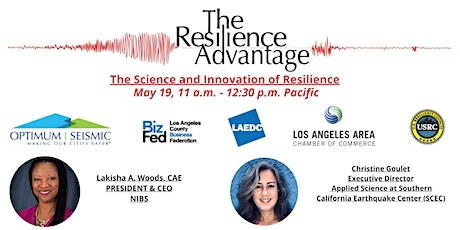 The Science and Innovation of Resilience tickets