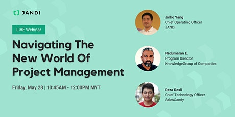 [LIVE Webinar] Navigate the New World of Project Management tickets