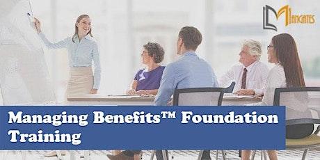 Managing Benefits™ Foundation 3 Days Virtual Live Training in Ottawa tickets