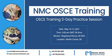 OSCE Training 3-Day Practice Session at Merlin Center tickets