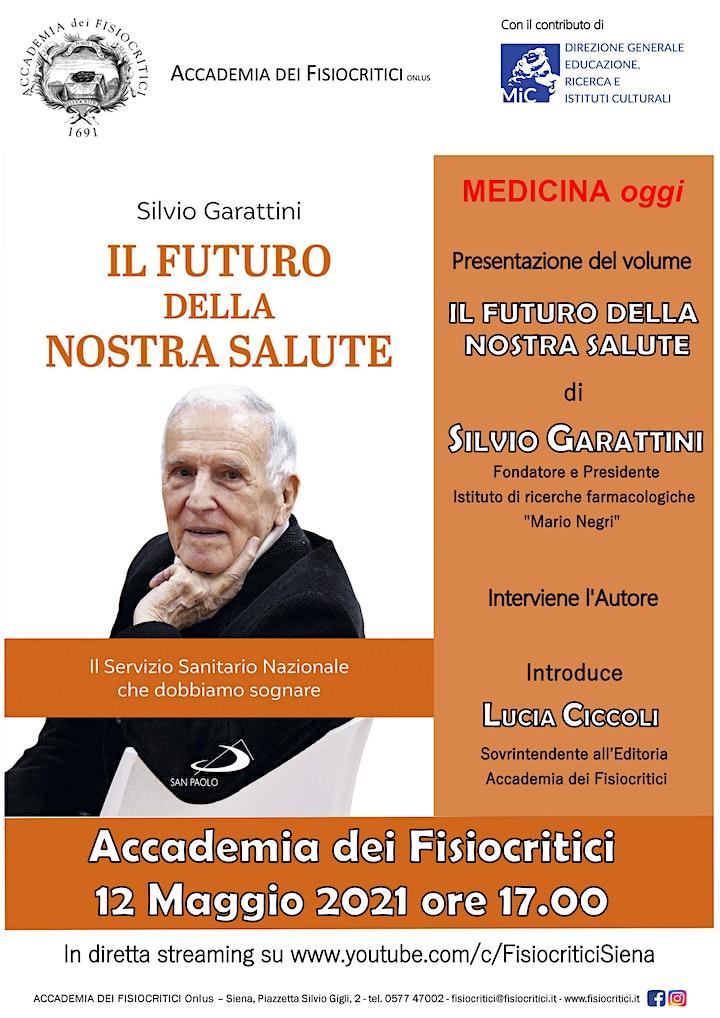 """Immagine Presentazione volume """"Il futuro della nostra salute"""""""