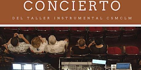 Concierto del Taller Instrumental del CSMCLM entradas