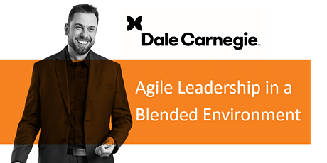 Agile Leadership in a Blended Environment tickets