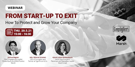 From Start-up to Exit-How to Protect and Grow Your Company tickets