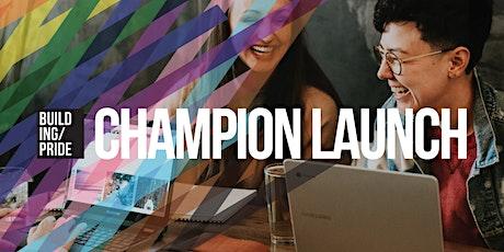 Champion: LGBT+ Mentoring Program Launch tickets