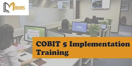 COBIT 5 Implementation 3 Days Training in Hamilton City tickets