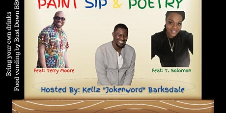 Paint Sip and Poetry May 28th tickets
