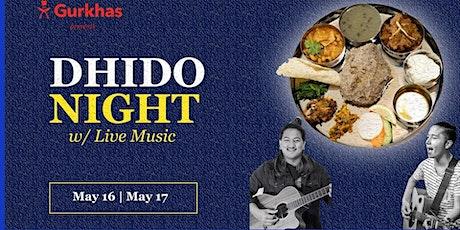 DHIDO NIGHT tickets