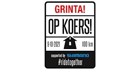 Grinta! Op Koers Ride 2021 tickets