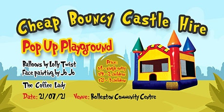 Cheap Bouncy Castle Hire Pop Up Playground tickets