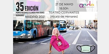 Premios Nacionales a la Moda 35 Edición entradas
