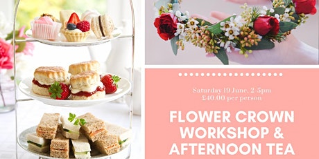 Flower Crowns & Afternoon Tea tickets