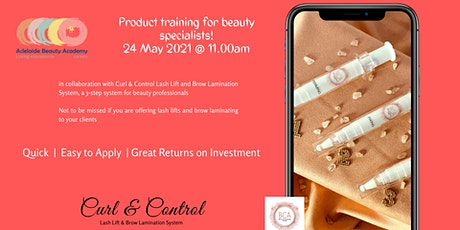 Curl & Control Product Training tickets