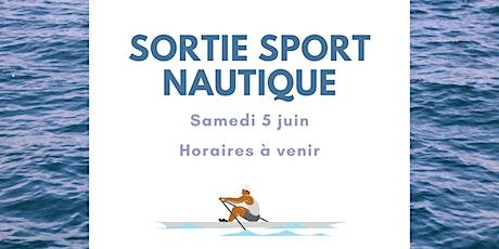 Sortie sport nautique : aviron billets
