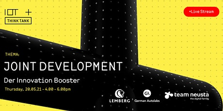 Joint development - der Innovation Booster. Tickets