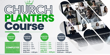 Church Planters' Course(Modules1-4) tickets
